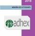Memoria de actividades Adhex 2018