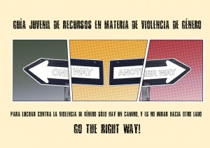 GO THE RIGHT WAY! GUIA JUVENIL VIOLENCIA DE GÉNERO